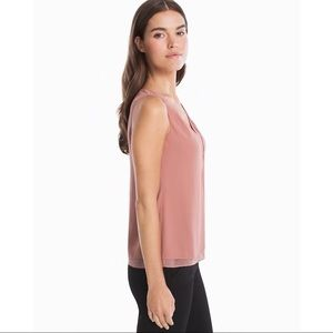 White House Black Market Tops - NWT WHBM Layering Shell Top Size Small